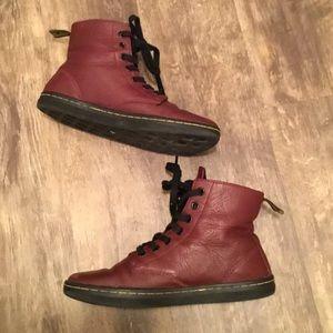 Dr. Martens Oxblood Boots 7
